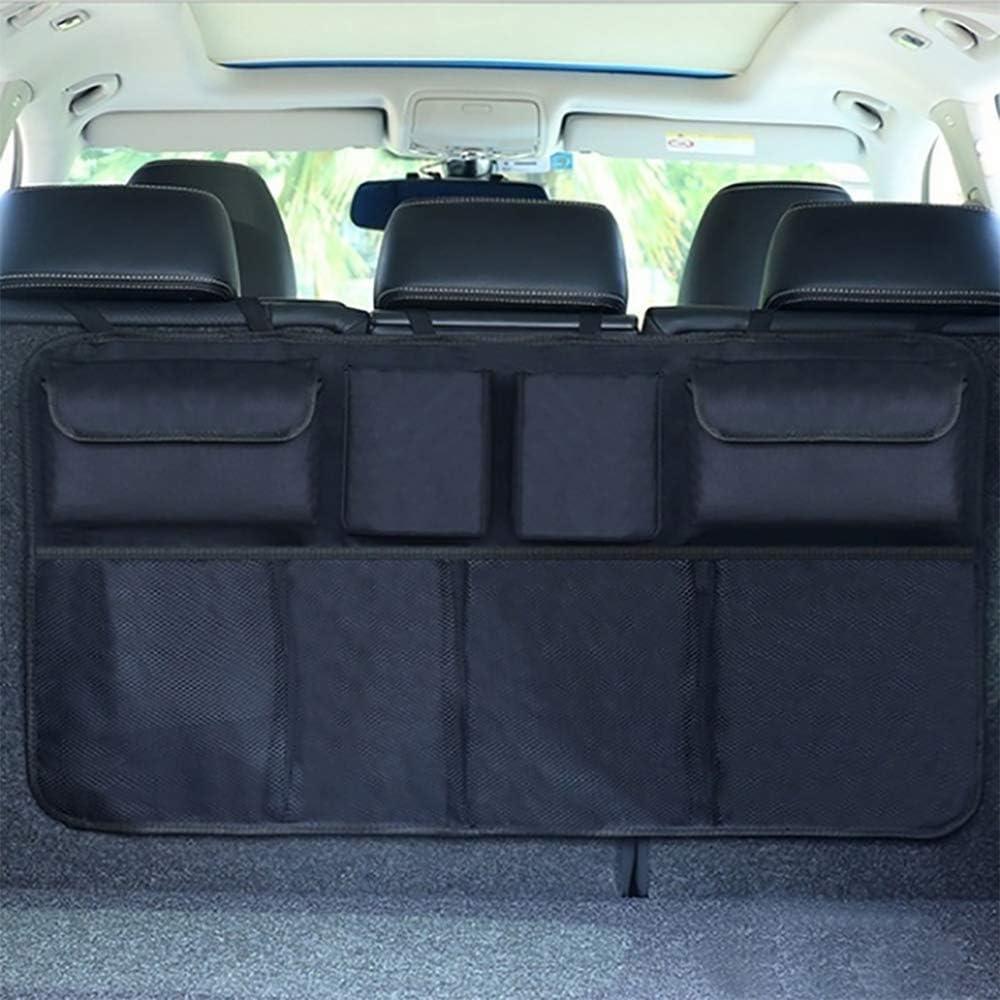 Auto Hang Seat Back Storage Organizer Fit Many Vehicle /& SUV Large Storage Packets Keep Your Truck Tidy and Organizer Sushiyi Backseat Trunk Car Organizer