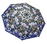 Galleria Renoir Floral Bouquet Folding Umbrella