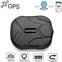 Hangang GPS Tracker localizador GPS en tiempo real Localizador SMS Online 5000 mAh 90 días Standby magnético impermeable…