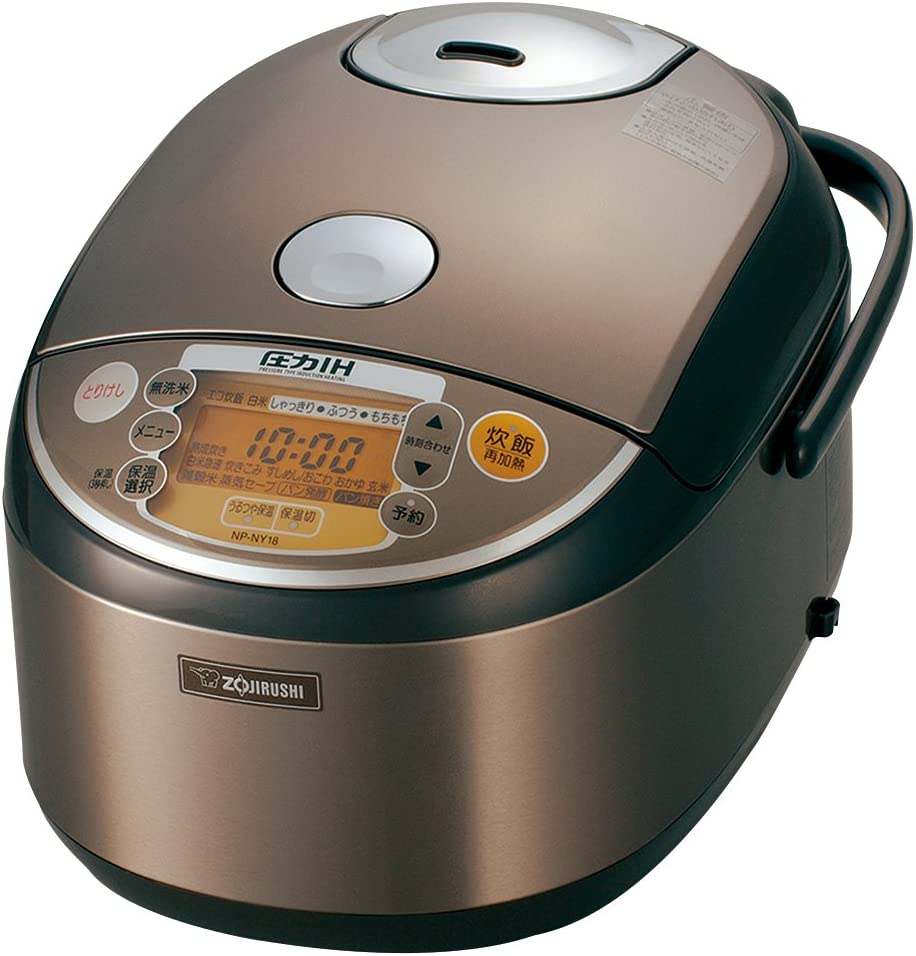 ZOJIRUSHI pressure IH rice cooker NP-NY18-XJ(Japan Import)