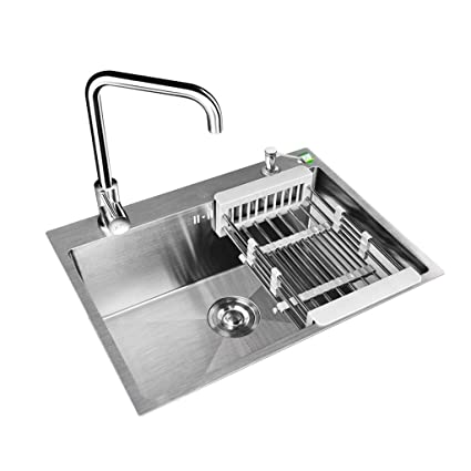 Rjli Kitchen Sinks Kitchen Sink Stainless Steel Sink Single