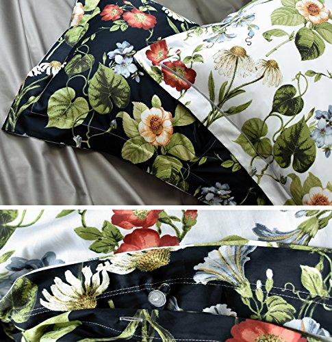 Tahari Home Vintage Botanical Wild Flower Print Duvet