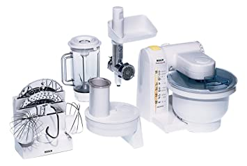 Amazon.de: Bosch MUM4655EU Küchenmaschine MUM4 (550 Watt, 3.9 Liter ...