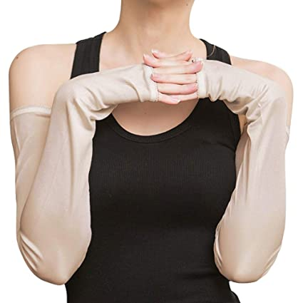 Welcome To Our Home UV Sun Protective Outdoors Stretchy Cool Arm Sleeves Warmer Long Sleeve Glove