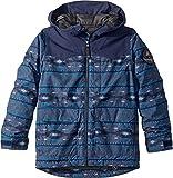 Burton Boys' Phase Jacket, Mood Indigo Saddle Stripe, Large