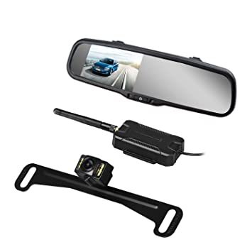 Amazon.com: AUTO VOX Wireless Backup Camera Kit with HD Rearview ...