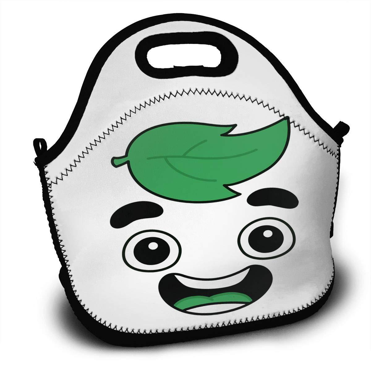 1f1afd04e610 Amazon.com - Sunmoonet Lunch Tote Bag Guava Juice Face Cotton Bento ...