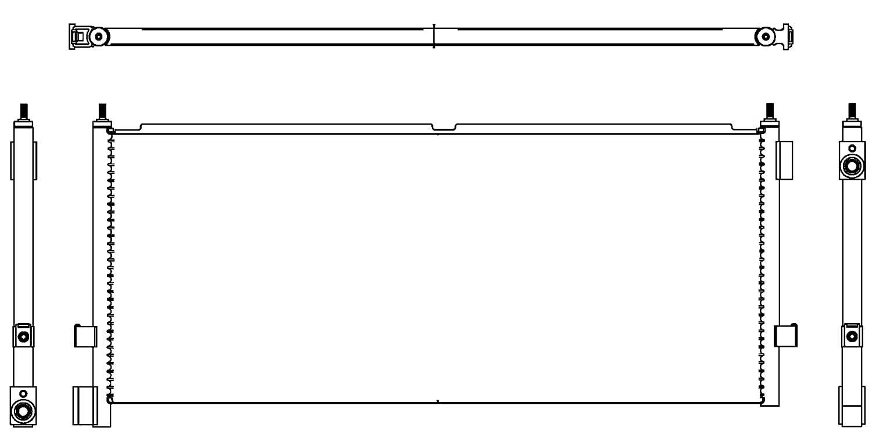 BEHR HELLA SERVICE 8FC 351 307-311 *** PREMIUM LINE *** Condenser, air conditioning Hella KGaA Hueck & Co.