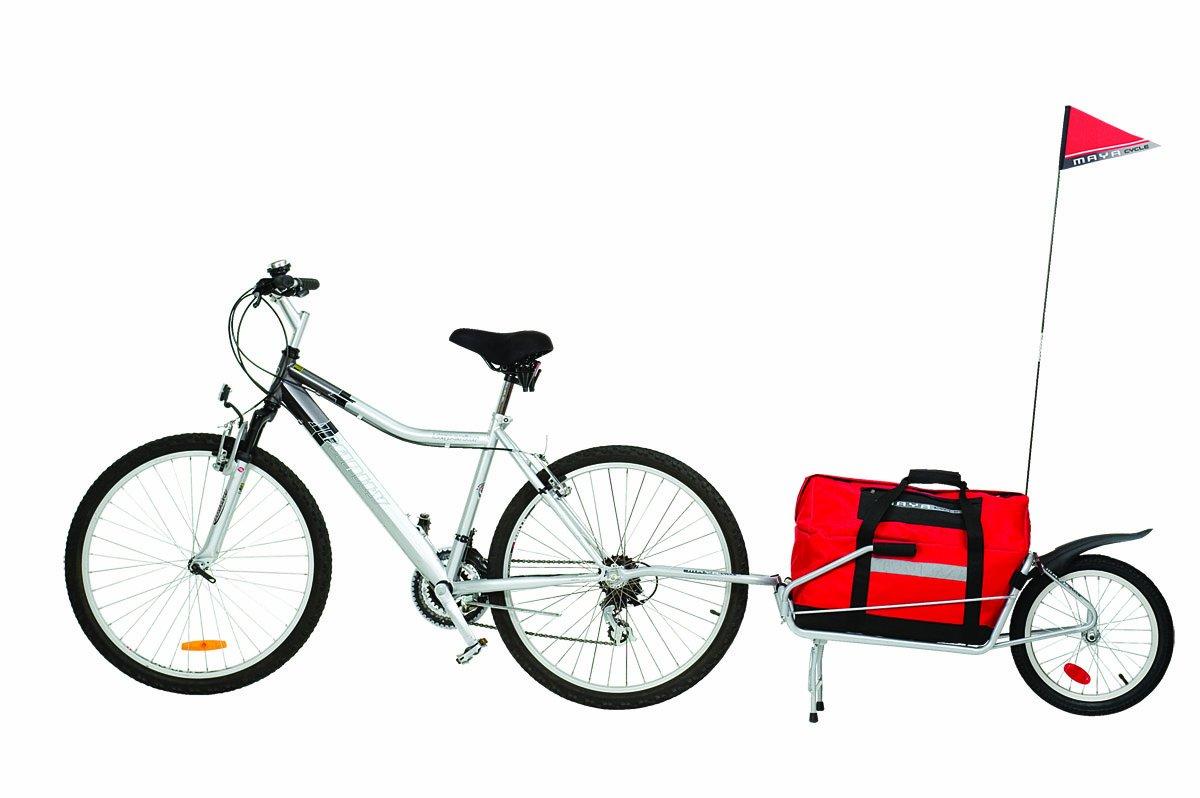 Amazoncom Maya Cycle Bike Trailer Maya Bicycle Cargo Trailer