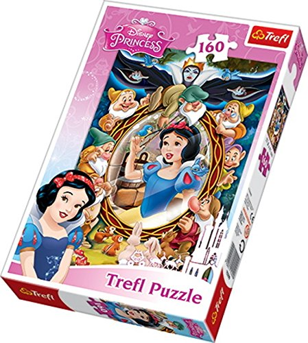 Trefl Disney Princess Snow White Collage Puzzle (160 Pieces)