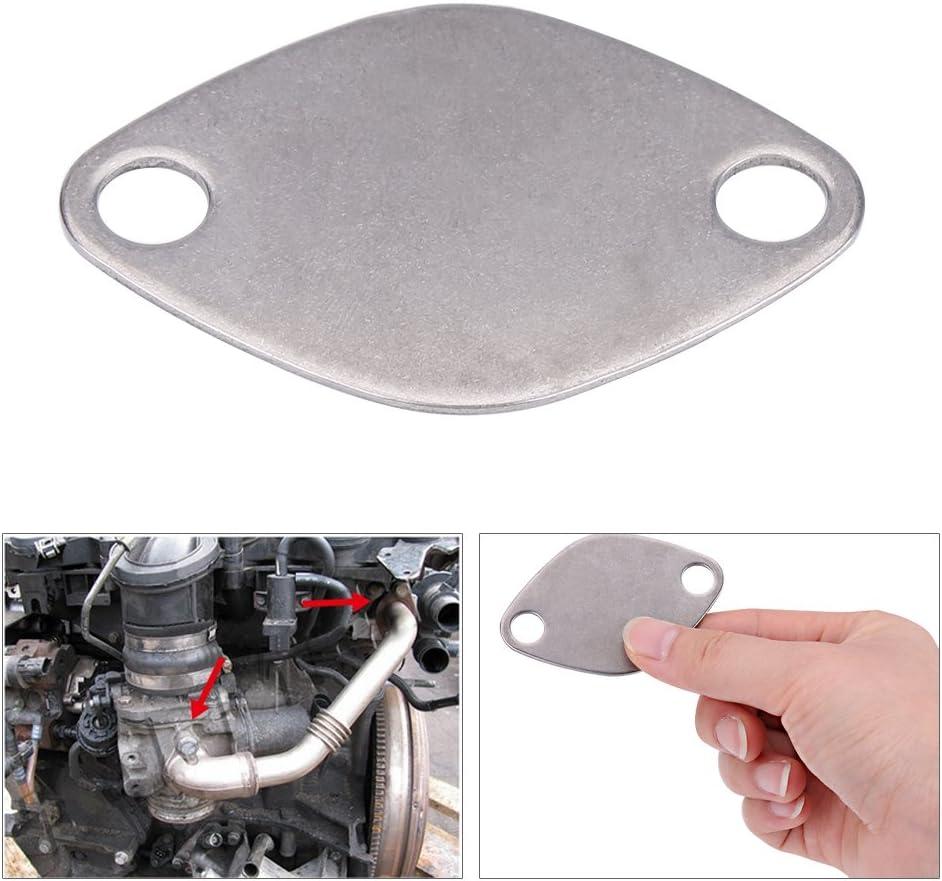 EGR Valve Gasket Stainless Steel EGR Valve Blanking Block Plate Kit