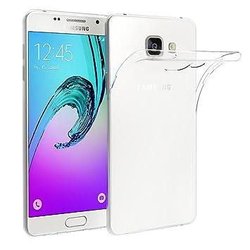 ivoler Funda Carcasa Gel Transparente Compatible con Samsung Galaxy A5 2016, Ultra Fina 0,33mm, Silicona TPU de Alta Resistencia y Flexibilidad