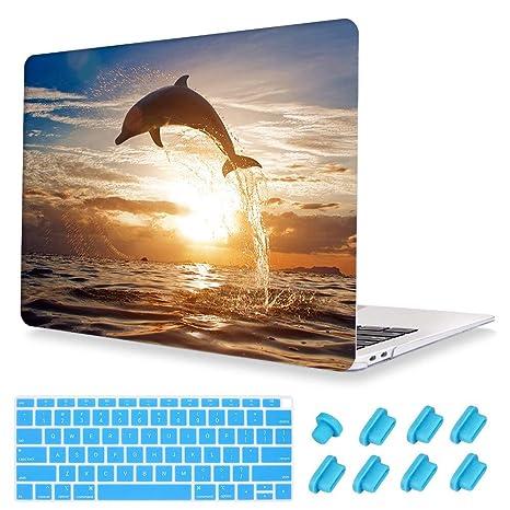 Sunset Ocean Image - Estuche transparente para computadora ...