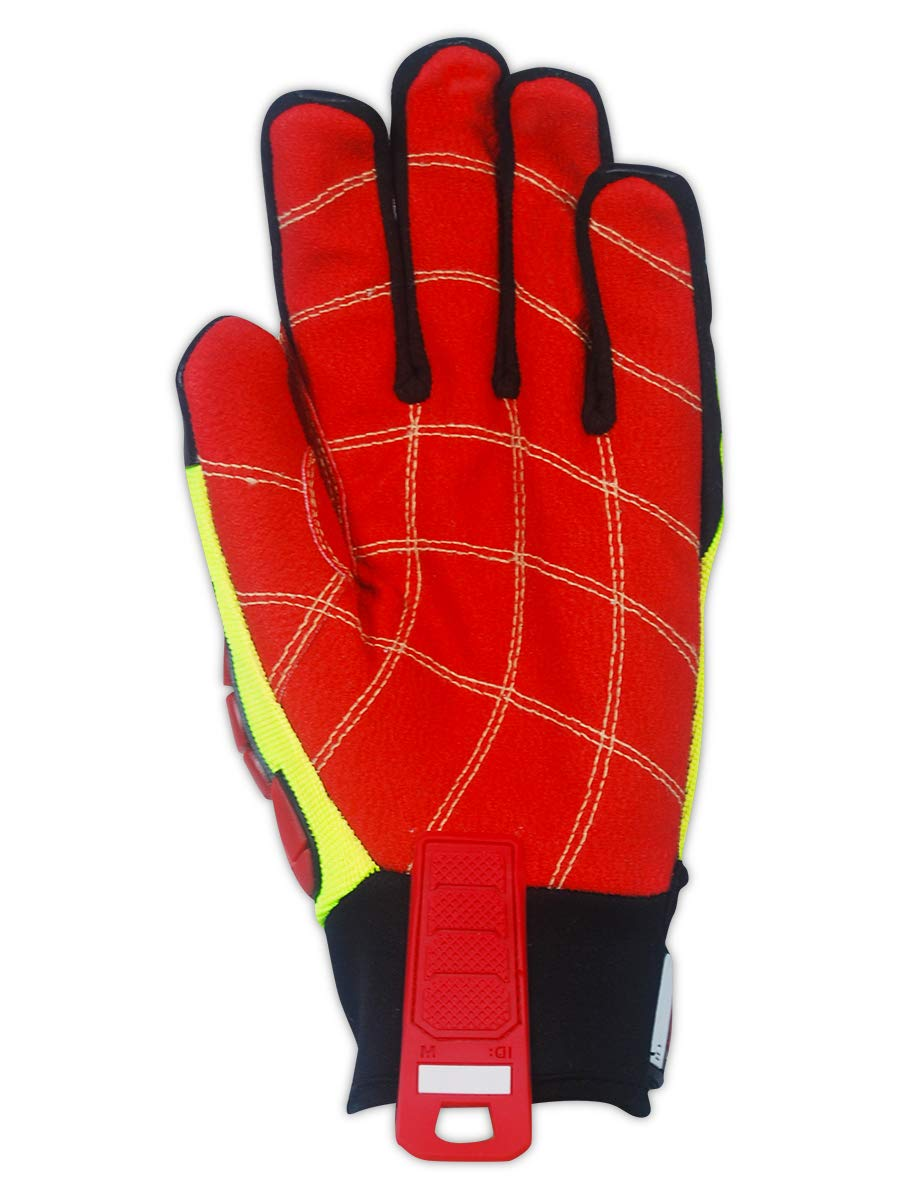 MAGID TRX647XXL Primal Series | Cut Level A4 M-Force Defense TPR Impact Work Gloves, Size 11/XXL, (1 Pair) by Magid Glove & Safety (Image #2)