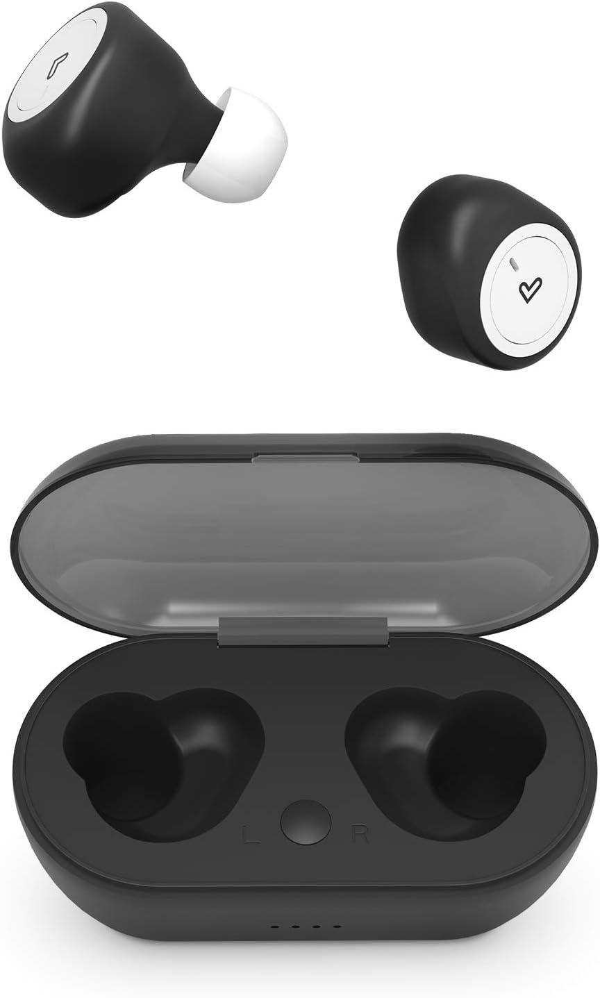 Energy Sistem Earphones Urban 1 True Wireless Black (Auriculares inalambricos, True Wireless Stereo, BT 5.0, Open&Play, Charging Case)