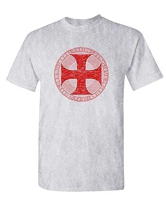 5f429e5d9 Amazon.com: Live Nice - KNIGHTS TEMPLAR - Mens Cotton T-Shirt: Clothing