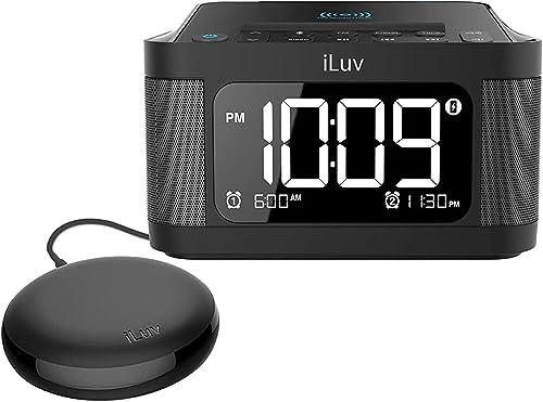 iLuv Timeshaker 6Q Wireless Bluetooth Alarm Clock