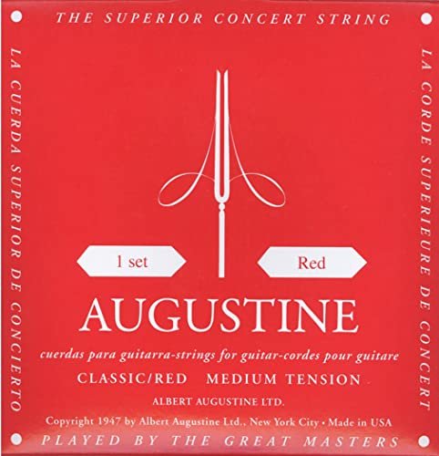 Augustine Red Classical Guitar Strings (AUGRED)