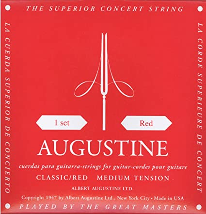 Augustine Classic/Red (Medium tension)