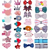 accessories 32Pcs Snap Hair Clips Lovely Metal Baby Hair Clip Barrettes for Girls Toddlers Kids Hair Accessories