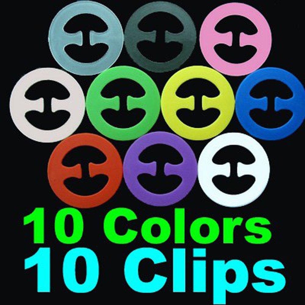 BH Clips Klammer Magic Bra Clipper für BH Träger 3er Set verschiedene Farben