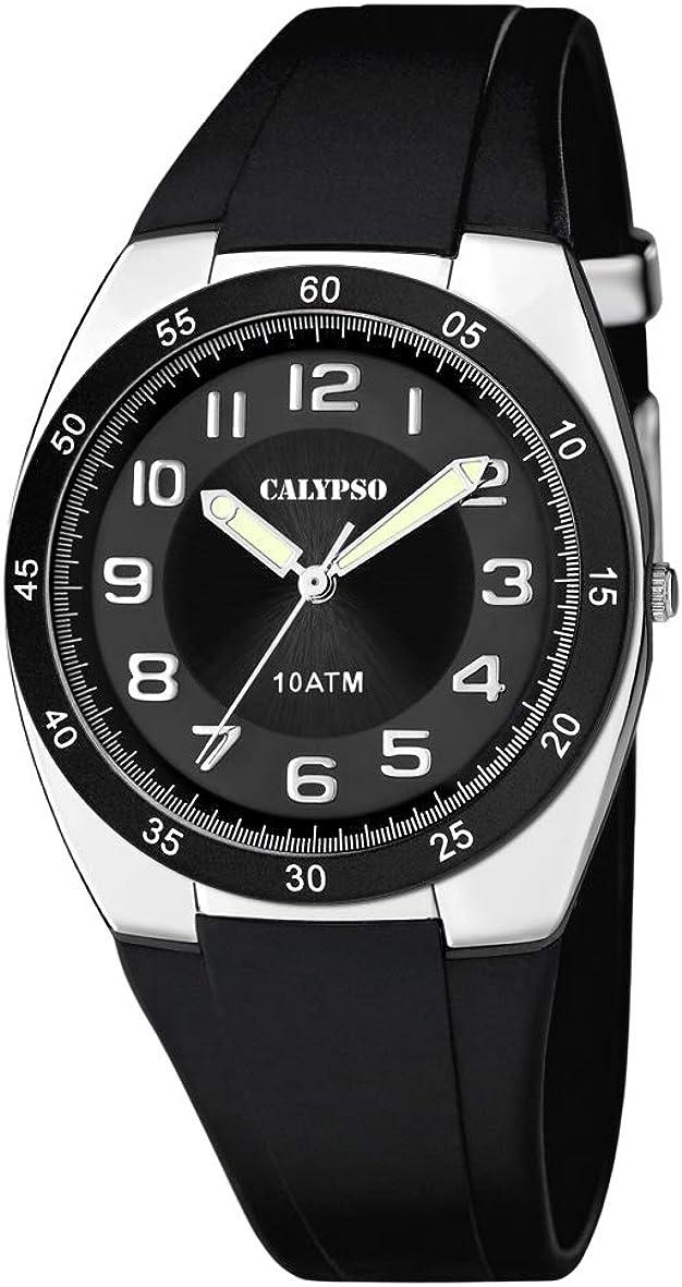 Calypso Reloj Analógico para Hombre de Cuarzo con Correa en Plástico K5753/6