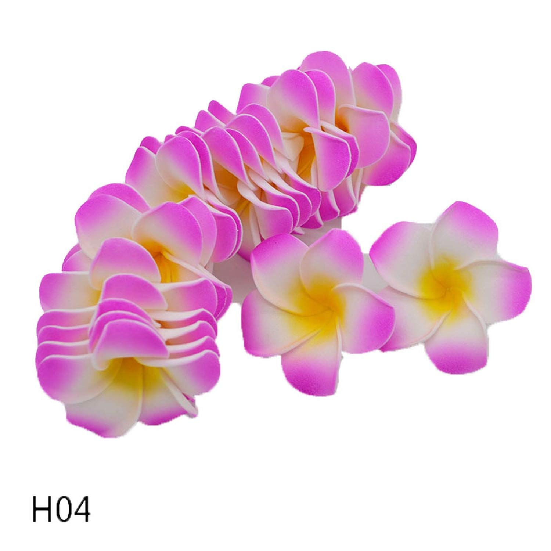 entertainment-moment-20Pcs-Plumeria-Hawaiian-Foam-Frangipani-Flower-Artificial-Silk-Fake-Egg-Flower-for-Wedding-Party-DecorationH047Cm