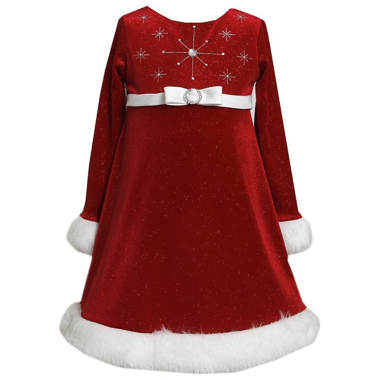 Amazon Bonnie Jean Girls Sparkle Snowflake Bodice Glitter