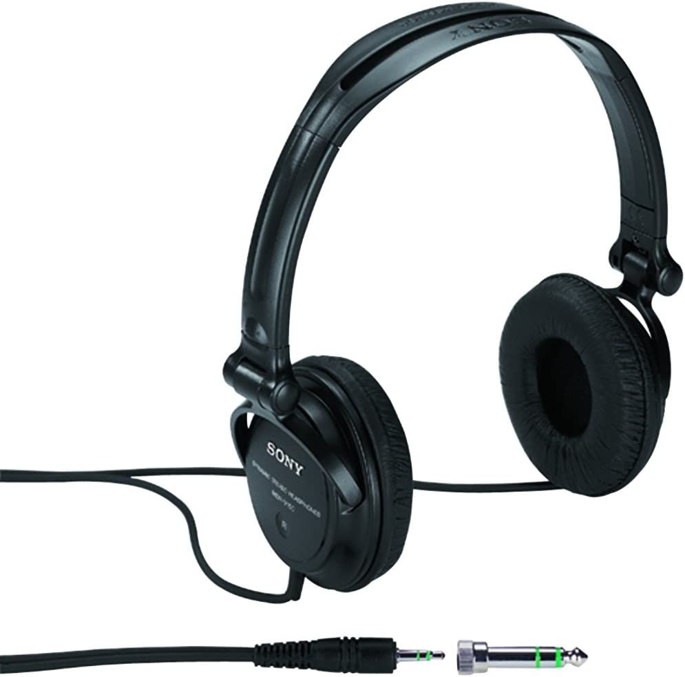 Sony Monitor Series Studio Headphones with iPod/iPhone Remote Control DRV-150ip (Discontinued by Manufacturer)