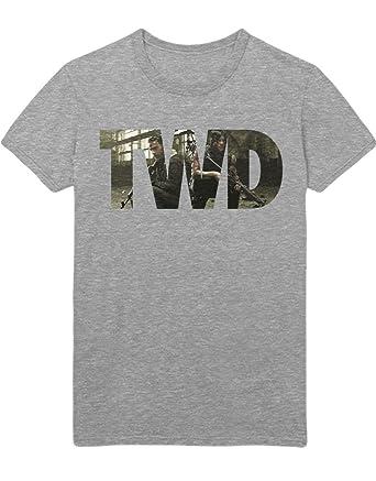 Hypeshirt T-Shirt The Walking Dead TWD Rick & Daryl C777667 Grau S