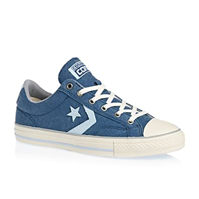 Converse Star Player Ox Blue Mens Trainers 8 US
