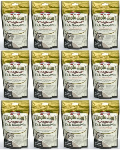(Marshall Uncle Jim's Original Duk Soup Mix for Ferrets 3.375Lb (12 x 4.5oz))
