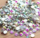 Crystal AB / Crystal FlatBack Glass Rhinestones