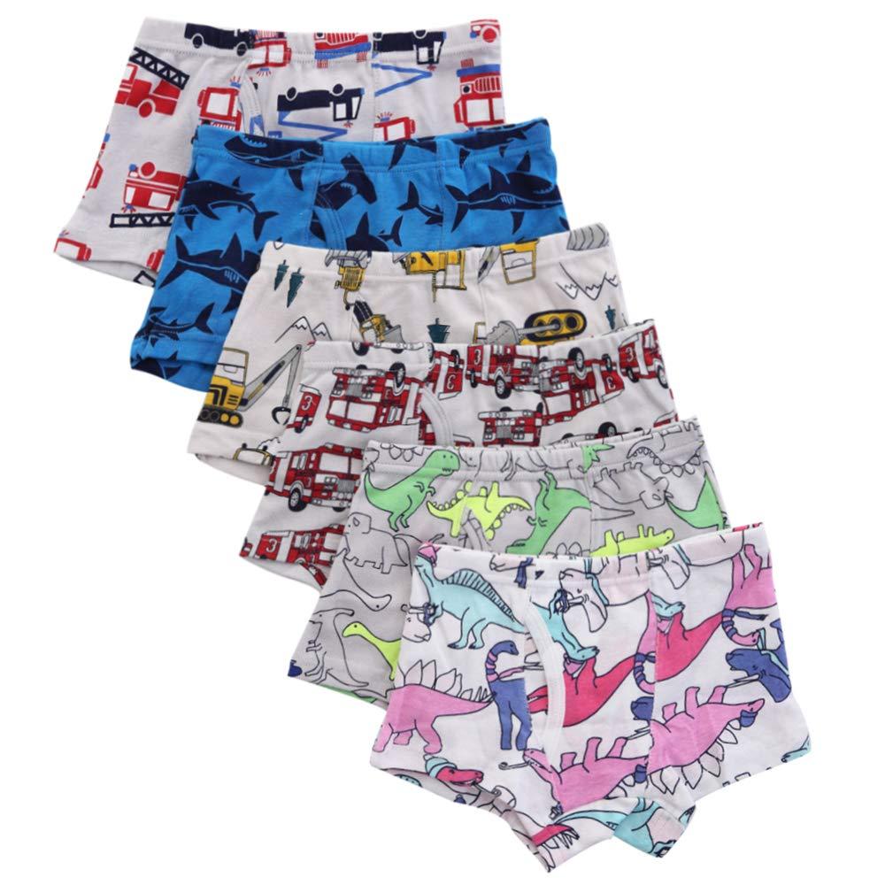 benetia Boys Toddler Underwear Cotton 6 -Pack 2t 3t