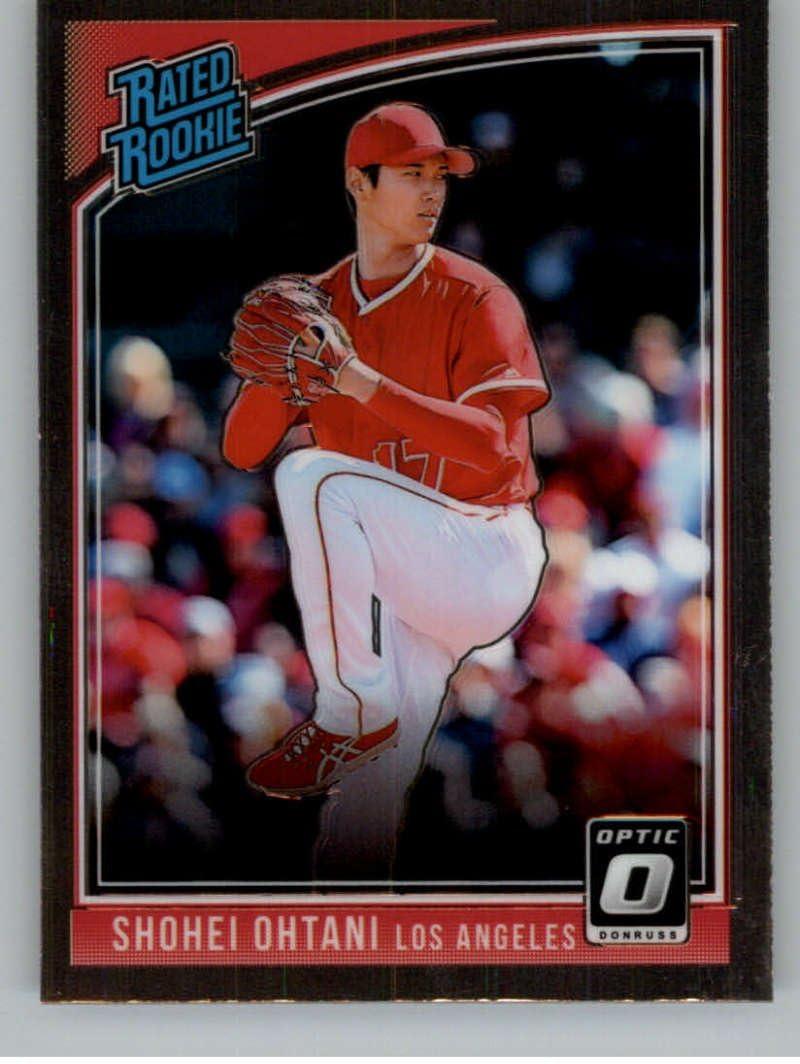 2018 Donruss Optic Baseball Variations #176 Shohei Ohtani Los ...