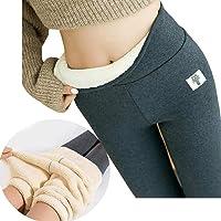 Super Thick Cashmere Wool Leggings Women - Winter Soft Fleece Lined Leggings, Women High Waist Tummy Control Velvet…