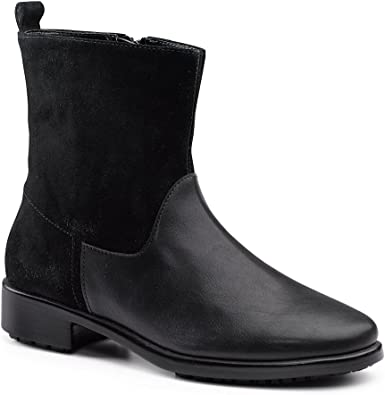 Wish SG Black Ankle Boot 5.5