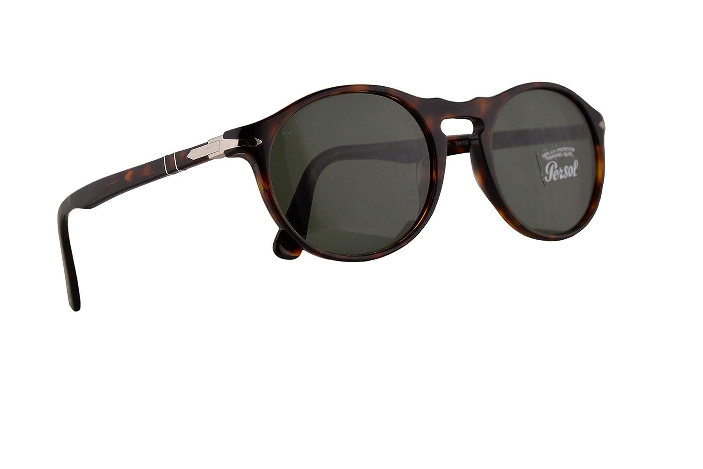 Persol 3204-S Sunglasses Havana w//Green Lens 51mm 2431 PO 3204S PO3204S PO3204-S