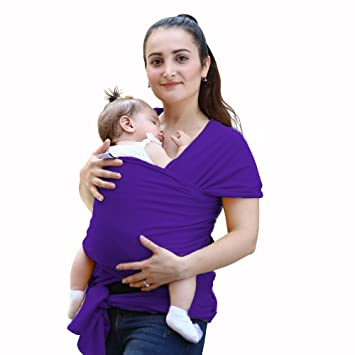 Amazon Com Baby Sling Natural Soft And Lightweight Baby Wrap
