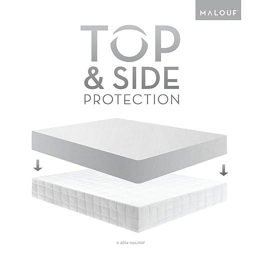 Amazon.com: SLEEP TITE Five Sided Mattress Protector - 100 ...