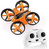 HELIFAR F36 Mini Drone 2.4G 4CH 6Axis Gyro modalità Headless Telecomando RC Quadcopter Drone per Bambini, Principianti
