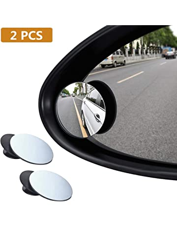 BUYGOO 2 Pcs Espejo de Punto Ciego Giratorio de 360 ° para ala de Coche Espejo