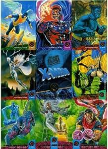 X-Men Fleer Ultra '94 Iceman Original Team (ERROR missing #) #98 Single Trading Card