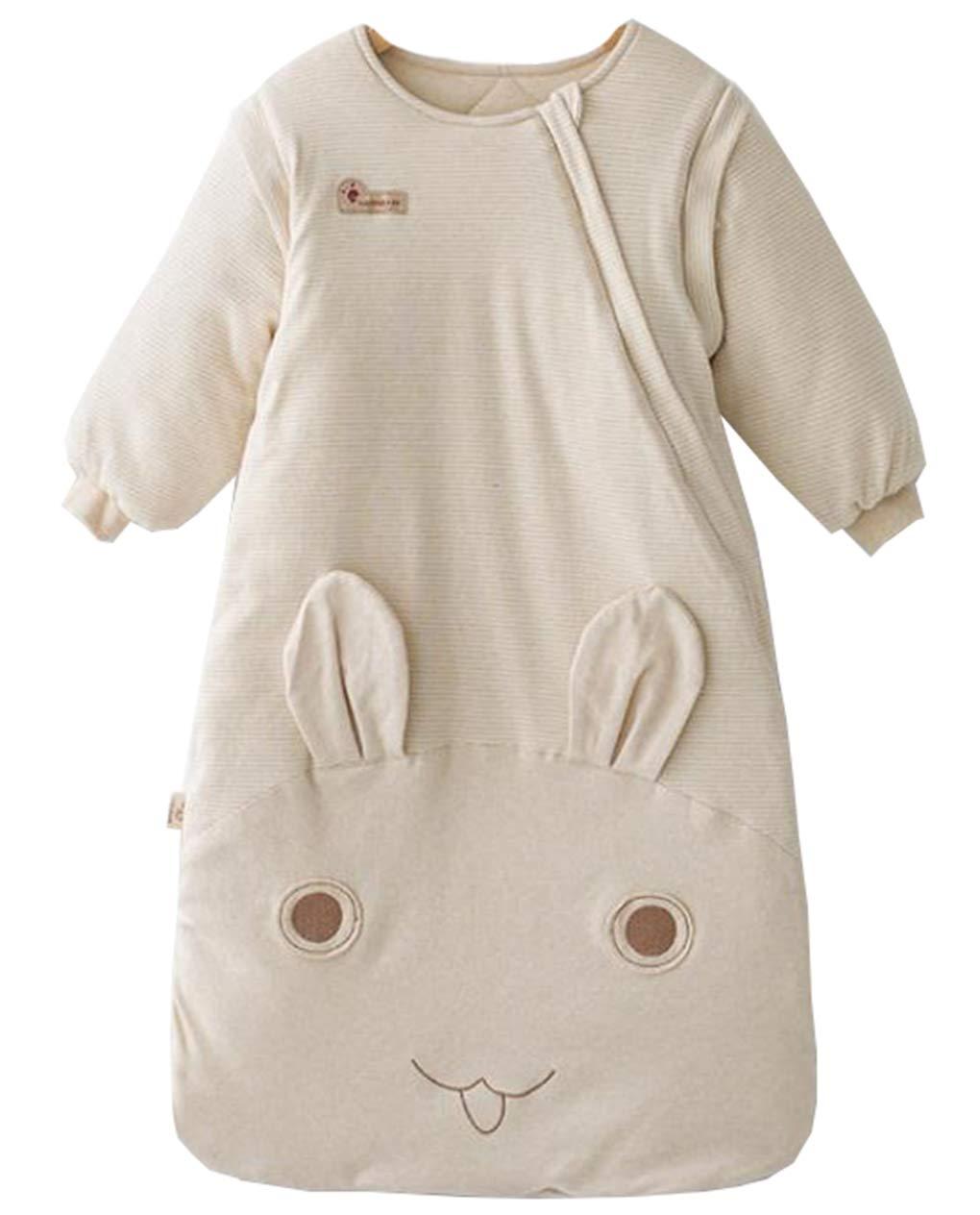 ML Saco de Dormir para bebés, Saco de Dormir para bebés, antipatadas para niños, Conejo de algodón de Color Conejo Lindo (1-36 Meses): Amazon.es: Deportes y ...