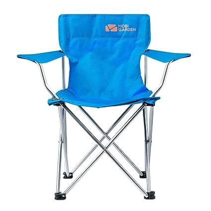 L@LILI Silla Plegable al Aire Libre sillón Parque Camping ...