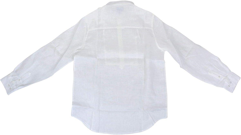 Fay - Camisa de niño NDIA138742LQPWB001 de Lino Blanco Bianco Talla de Marque 14 años: Amazon.es: Ropa y accesorios