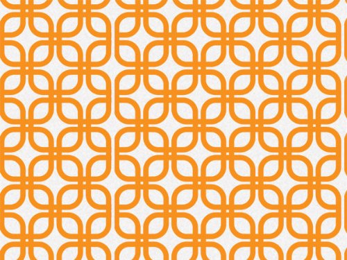 Orange Links Geo Graphic 240~20''x30'' Sheets Recycled (240 Sheets) - WRAPS-P1357 by Miller Supply, Inc.