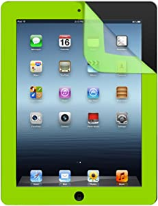 iHome IH-IP2305E Color Guard Screen Protector for iPad 2/3/4, Green