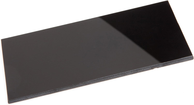 "hardened glass Glass welding helmet filter plate 2x4 Shade 9 2 x 4 1//4/"""