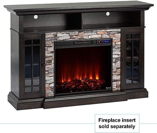 Amazon Com E Flame Usa Whistler Large Electric Fireplace Stove Tv